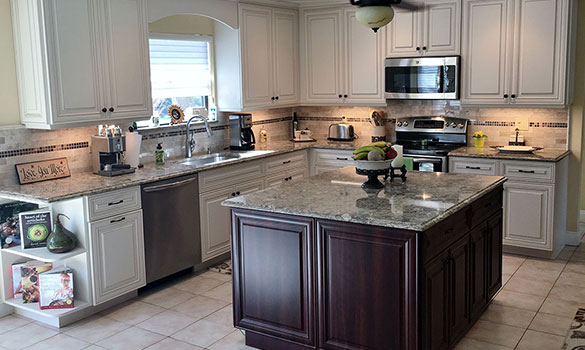 Kitchen Cabinet Refacing in Massapequa & Smithtown NY